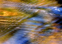 Mountain Stream, Abstract, Reflection, Creek, Water