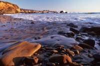 Confluence Rocky Stream, Fanklin Point, Ano Nuevo, Beach, California