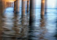 Santa Cruz Wharf, California, kayak