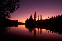 Sierra Lake Sunset