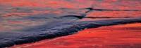 Wave, Foam, Bubbles, Santa Cruz, Reflection, Beach, Sunset, Ocean