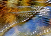 Mountain Stream, Motion, Abstract, Water, Flow, Sparkling