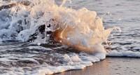 Waves, Beach, Sea foam, Splash, Ocean